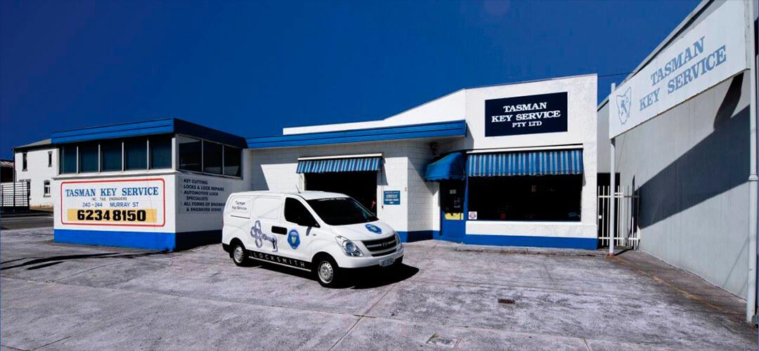 Tasman Key Service located at 240 Murray St Hobart